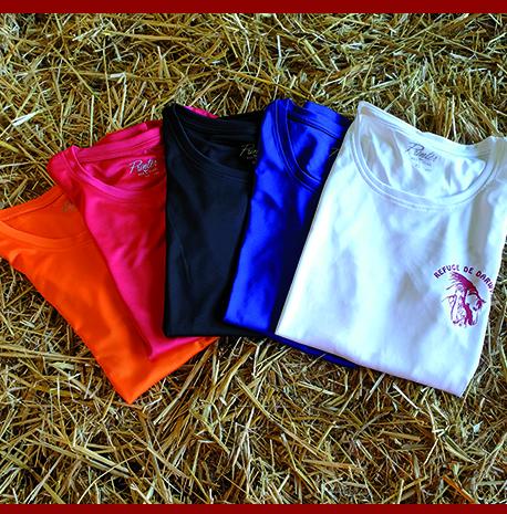 tee shirt polyester femmes