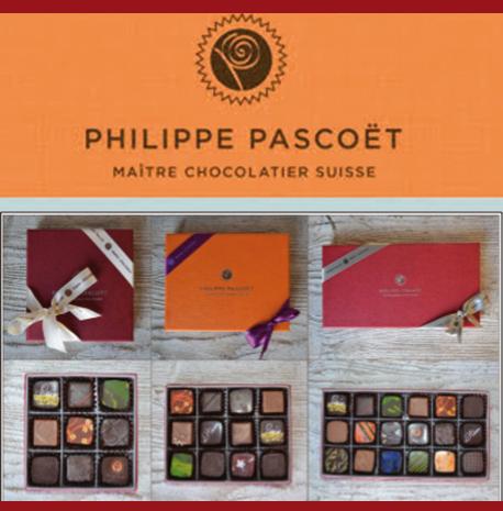 Chocolats de Philippe Pascoët - 9 ganaches