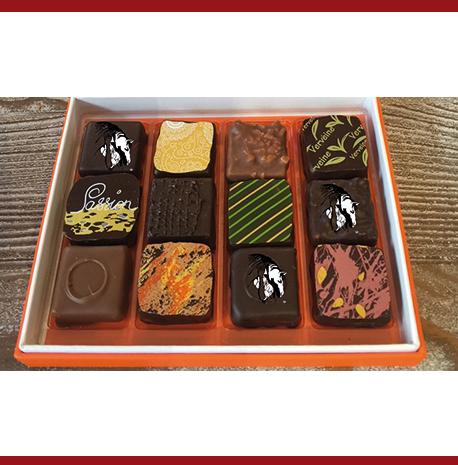 Chocolats de Philippe Pascoët - 12 ganaches